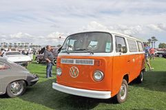 Volkswagon Microbus. This vehicle was popular with the hippy crowd during the 1960`s and 1970`s. Some vagabonds lived in them. They were often painted with royalty free stock photos
