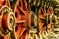 Vehicle, Wheel, Chain, Drive, Metal Royalty Free Stock Photography
