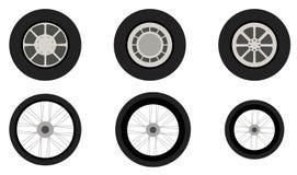 Vehicle wheels Royalty Free Stock Photo