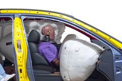 The vehicle which is doing the crash test Royalty Free Stock Photo