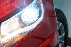 Vehicle Xenon Headlight Royalty Free Stock Photos