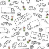 Vehicles background Stock Image