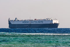 Vehicles Carrier vessel Stock Images