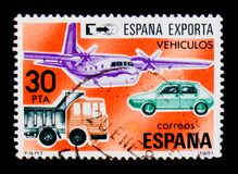 Vehicles, Exports serie, circa 1981 Stock Images