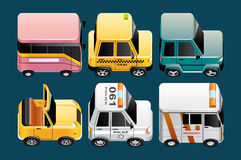 Vehicles  icons Stock Images