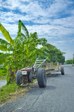 Vehicles used in agriculture. Royalty Free Stock Photography