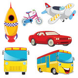 Vehicles Vector Set Stock Photo