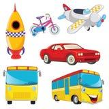 Vehicles Vector Set.  Stock Photo