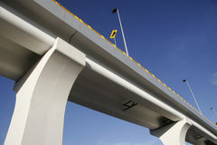 Vehicular bridge Stock Images