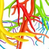 Veias da fantasia Ilustração médica Foto de Stock Royalty Free