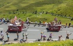 Veicoli di Banette - Tour de France 2014 Immagini Stock