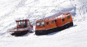 Veicoli speciali del trasporto di inverno Immagine Stock Libera da Diritti