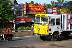 Veicolo Chennai dell'immondizia Fotografie Stock Libere da Diritti