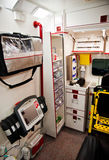 Veicolo del paramedico Fotografia Stock