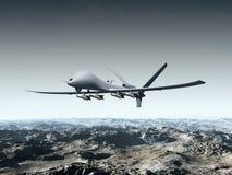 Veicolo di aria senza equipaggio di combattimento Immagine Stock Libera da Diritti