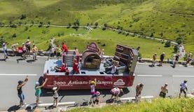 Veicolo di Banette - Tour de France 2014 Fotografia Stock Libera da Diritti