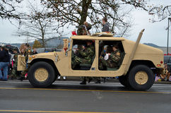 Veicolo di esercito Fotografia Stock Libera da Diritti