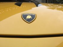 Veicolo di Lamborghini fotografia stock