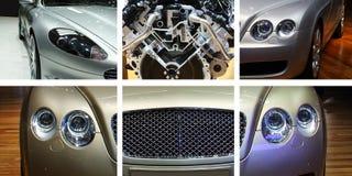 Veicolo di lusso dell'automobile sportiva fotografia stock