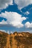 veicolo di piste del pendio di collina Fotografia Stock Libera da Diritti