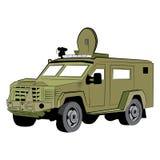 Veicolo di polizia corazzato dello SCHIAFFO Fotografie Stock Libere da Diritti