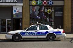 Veicolo di polizia di Ottawa Fotografie Stock Libere da Diritti