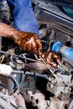 Veicolo di riparazione del meccanico Fotografia Stock Libera da Diritti