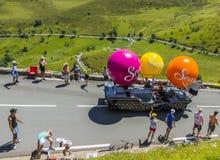 Veicolo di Senseo - Tour de France 2014 Fotografie Stock Libere da Diritti