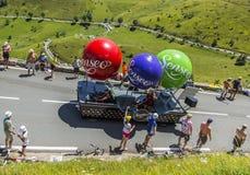 Veicolo di Senseo - Tour de France 2014 Immagine Stock