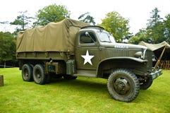 Veicolo di trasporto di WWII - camion Immagini Stock