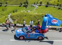 Veicolo di X-tra - Tour de France 2014 Immagini Stock Libere da Diritti