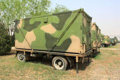 Veicolo militare Immagini Stock