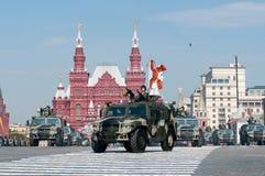 Veicolo militare multiuso Tigr di alta mobilità russa Fotografia Stock Libera da Diritti