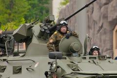 Veicolo militare pesante Immagini Stock Libere da Diritti