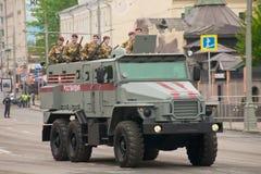 Veicolo militare pesante Immagine Stock