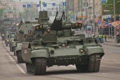 Veicolo militare pesante Immagini Stock