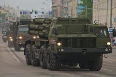 Veicolo militare pesante Fotografia Stock