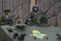 Veicolo militare pesante Fotografia Stock Libera da Diritti