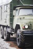 Veicolo militare russo Fotografia Stock