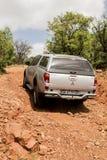 Veicolo Mitsubishi Tritone della trazione integrale Fuori strada Fotografia Stock