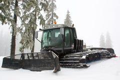 Veicolo speciale della neve - ratrak o snowcat Immagini Stock
