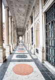 The Veii columns at Palazzo Wedekind, Rome, Italy Stock Photography
