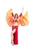 Veil dance Royalty Free Stock Photography
