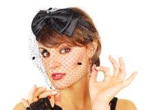 Veil lady. Royalty Free Stock Image