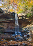 Veil Of Water Over Cucumber Falls Royalty Free Stock Photography