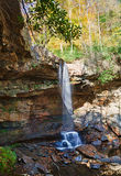 Veil of water over Cucumber Falls Royalty Free Stock Photo