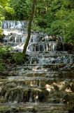 Veil Waterfall in the Szalajka Valley. The famous Waterfall in the Szalajka Valley Stock Photography