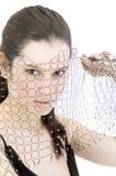Veiled beauty Royalty Free Stock Photography
