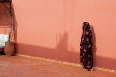 Veiled woman Royalty Free Stock Photos
