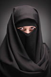 A veiled woman Stock Photos